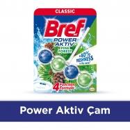 BREF POWER AKTİF KLOZET TOPU 50GR PİNE - 10'LU KOLİ