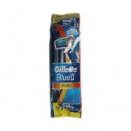 GİLLETTE BLUE II PLUS (10'LU POŞET+2AD.BLUE3 HED.) 200ADET - 20'Lİ PAKET