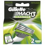 GİLLETTE MACH3 2'Lİ SENSİTİVE - 10'LU PAKET