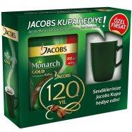 JACOBS MONARCH GOLD 200GR POŞET (KUPA HEDİYELİ)