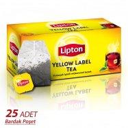 LİPTON YELLOW LABEL TEA 25'Lİ BARDAK - 12'Lİ KOLİ