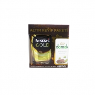 NESCAFE GOLD 200GR+NESTLE DAMAK HEDİYELİ (K:6)