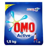 OMO MATİK ACTİVE 1.5KG - 9'LU KOLİ