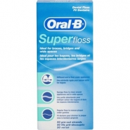 ORAL-B SUPER FLOSS DİŞ İPİ 50ADET (SAP 81309952) - 12'Lİ PAKET