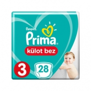 PRİMA PAMPERS PANTS MİDİ 6-11 (26) - 4'LÜ KOLİ