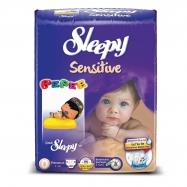SLEEPY SENSİTİVE JUMBO PAKET YENİ DOĞAN 0-3 (80)-5'Lİ KOLİ